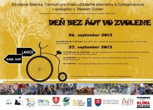 plagat Bicykle pre Zvolen sm (1)
