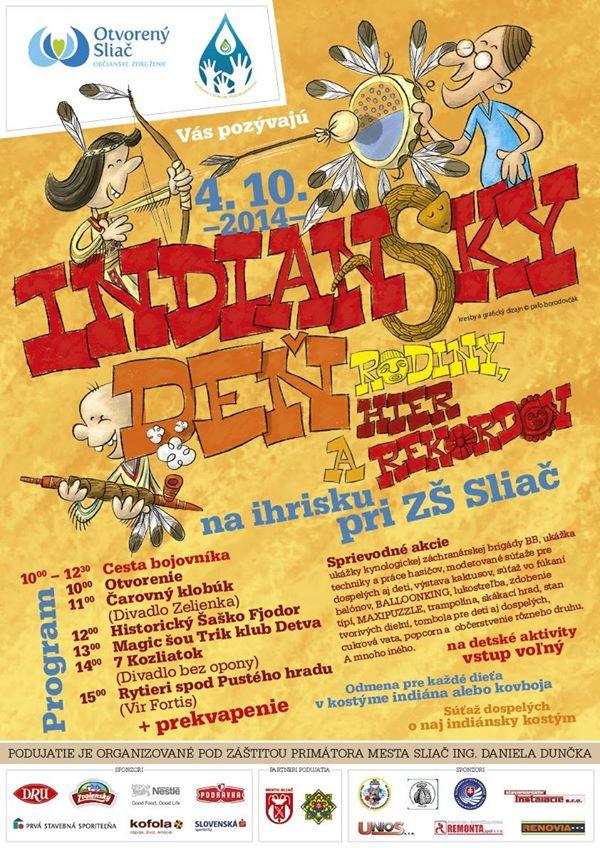 indiansky-den-2014-sliac