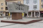 pamatnik v centre mesta zvolen