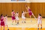 dievcata hraju basketbal vo zvolene