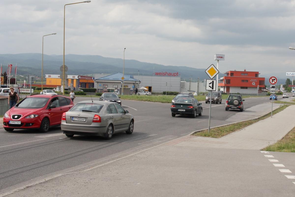 BBSK pripravuje prestavbu križovatky pri vjazde do Zvolena zo Sliača už v roku 2019
