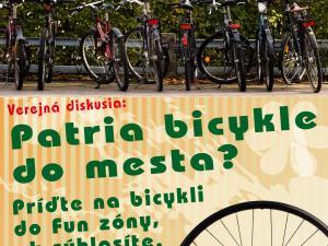 plagát k podujatiu patria bicykle do mesta
