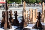 drevené šachové figúrky