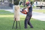 obrábanie dreva motorovou pílou