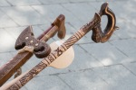 drevená vychádzková palica