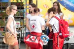 dievčatá červeného kríža