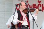 chlap hrá na husle