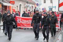 Fanúšikovia Bystrice pochodujú mestom
