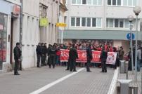 HKM Zvolen (červená) – HC'05 Banská Bystrica (biela)