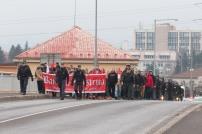 Fanúšikovia Bystrice idú mestom