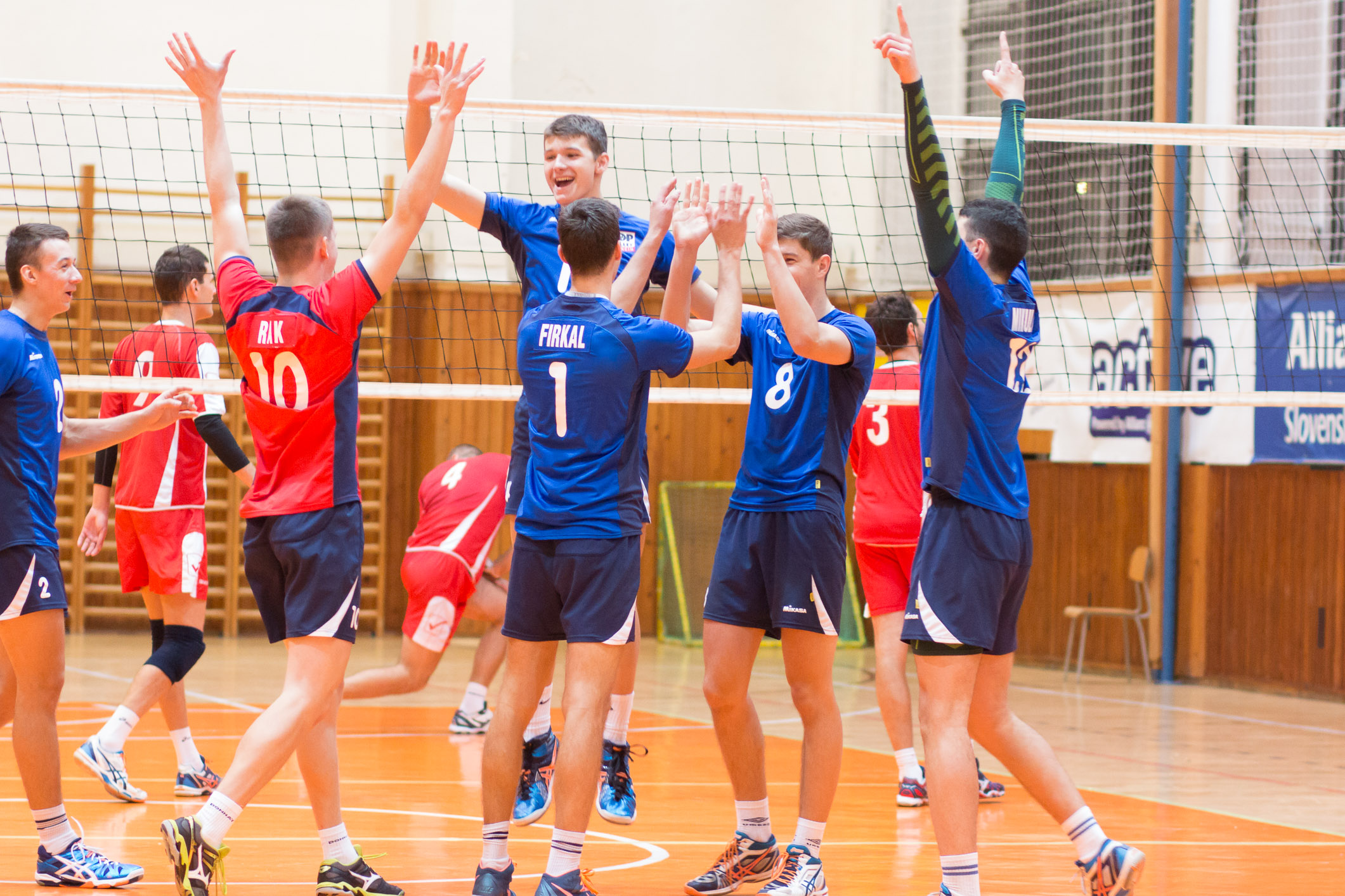 "MVK Lokomotíva Zvolen – COP Volley Trenčín""B"""