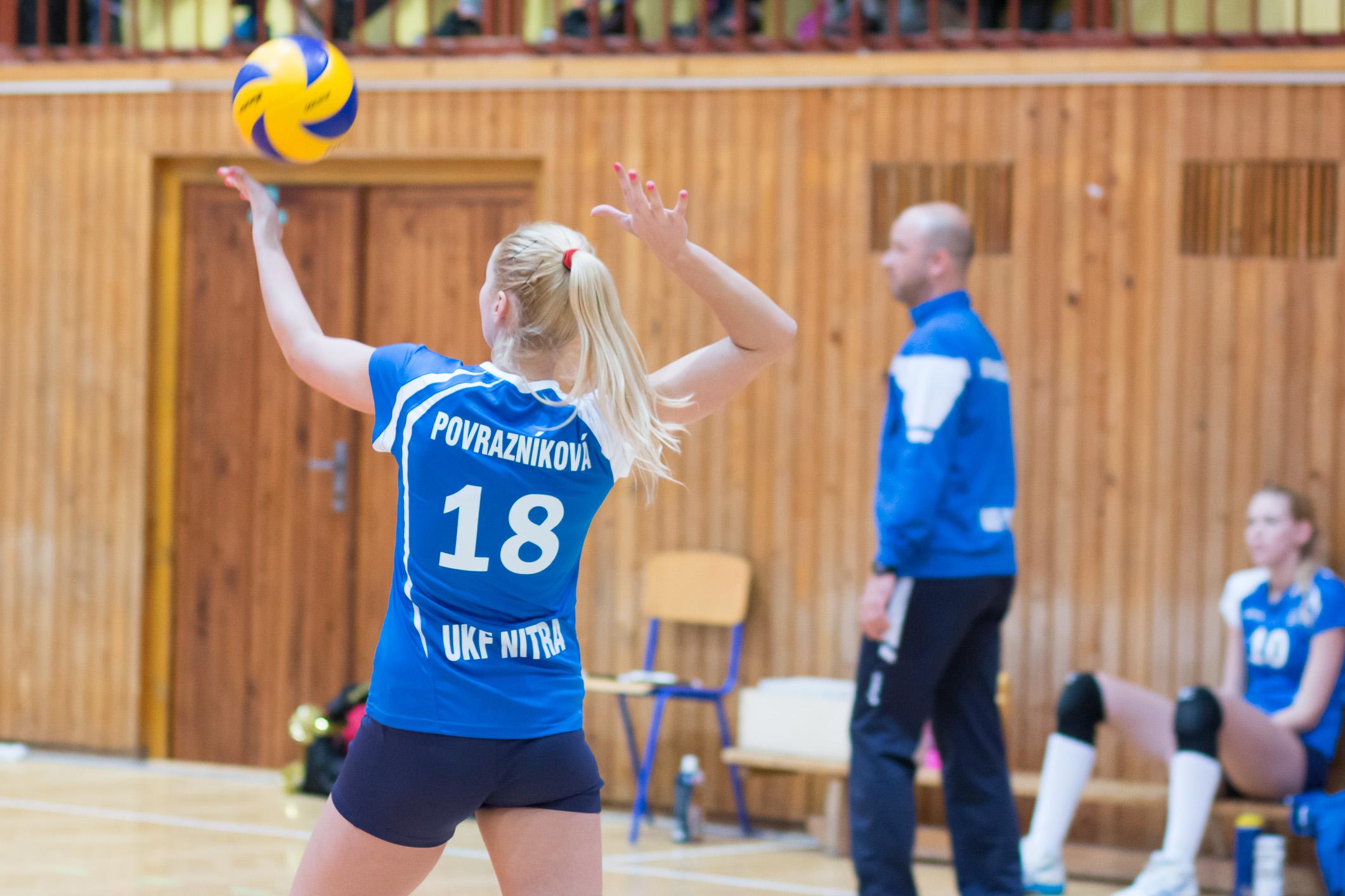 Ivana Povrazníková – Volley project UKF Nitra(modrá)
