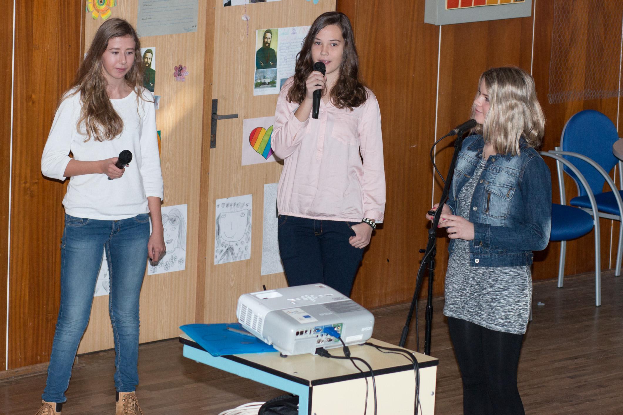 Michaela Majerová, Nina, Mesíková, MartinaHrušková