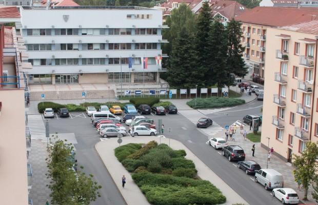 pohľad na budovu mestského úradu vo Zvolene