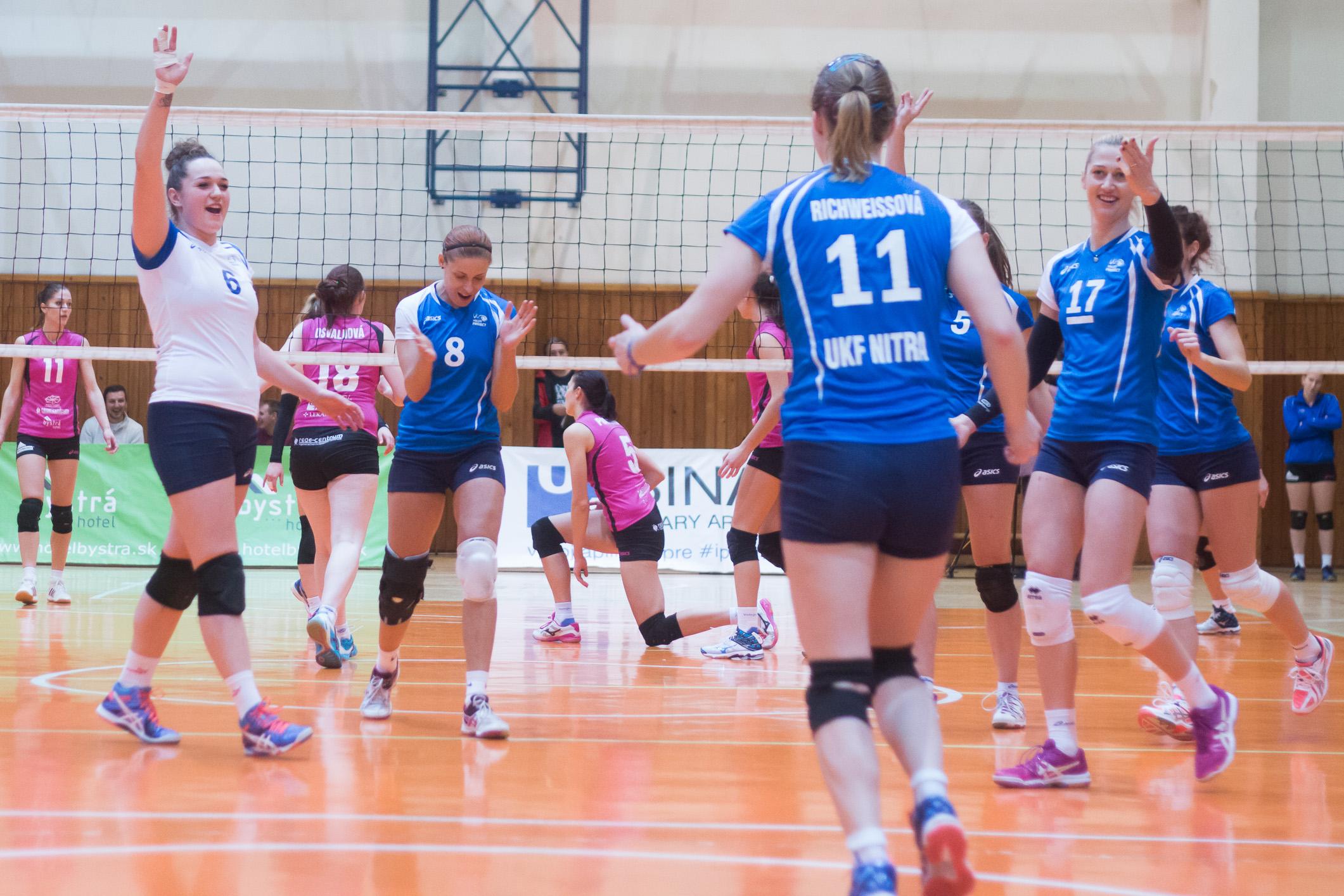 Volley project UKF Nitra(modrá)