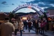 Vianočná dedina - vstupná brána