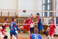 VKM Stará Ľubovna (modrá) - MVK Zvolen (červená)