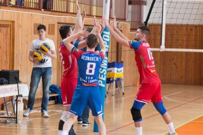VKM Stará Ľubovna (modrá) - VKP Bratislava (biela)
