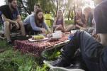 Vegánsky ovocný piknik