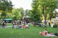 Atmosféra v parku Ľudovíta Štúra