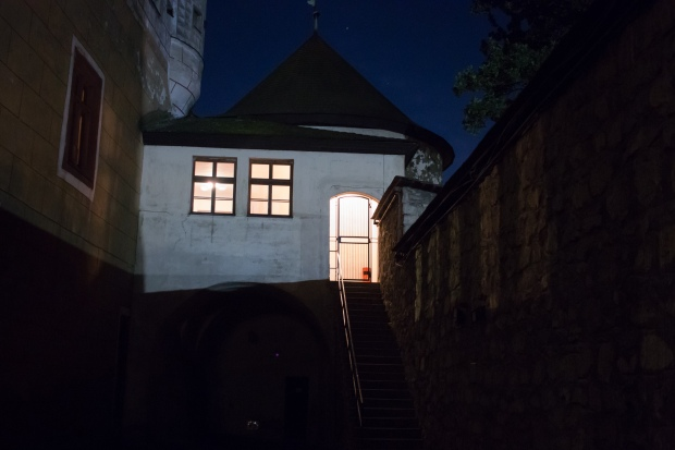 severozápadní bašta Zvolenského zámku