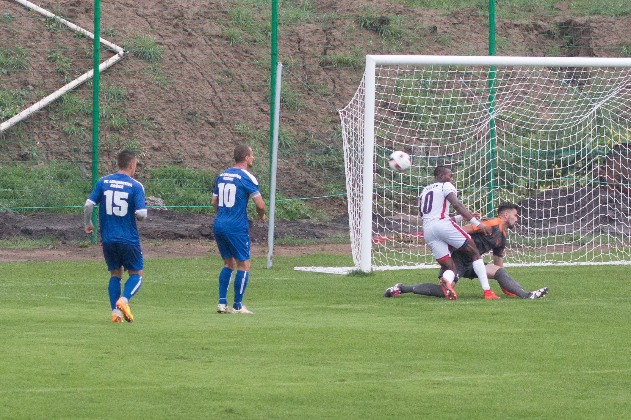MFK Zvolen (biela) – FC Lokomotíva Košice(modrá)