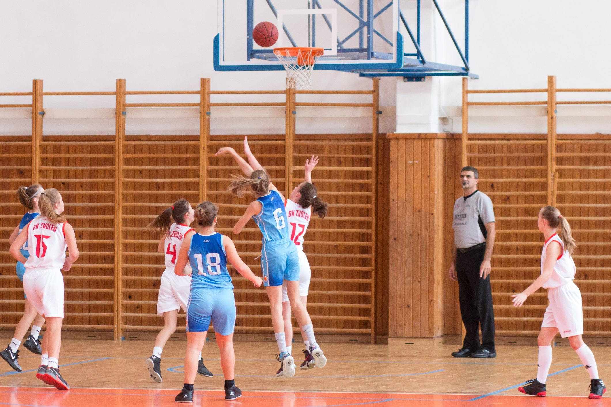 BK Zvolen (biela) – BK SlovanBratislava