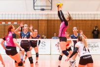 volejbalový zápas žien vo Zvolene