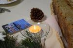 zapálená sviečka