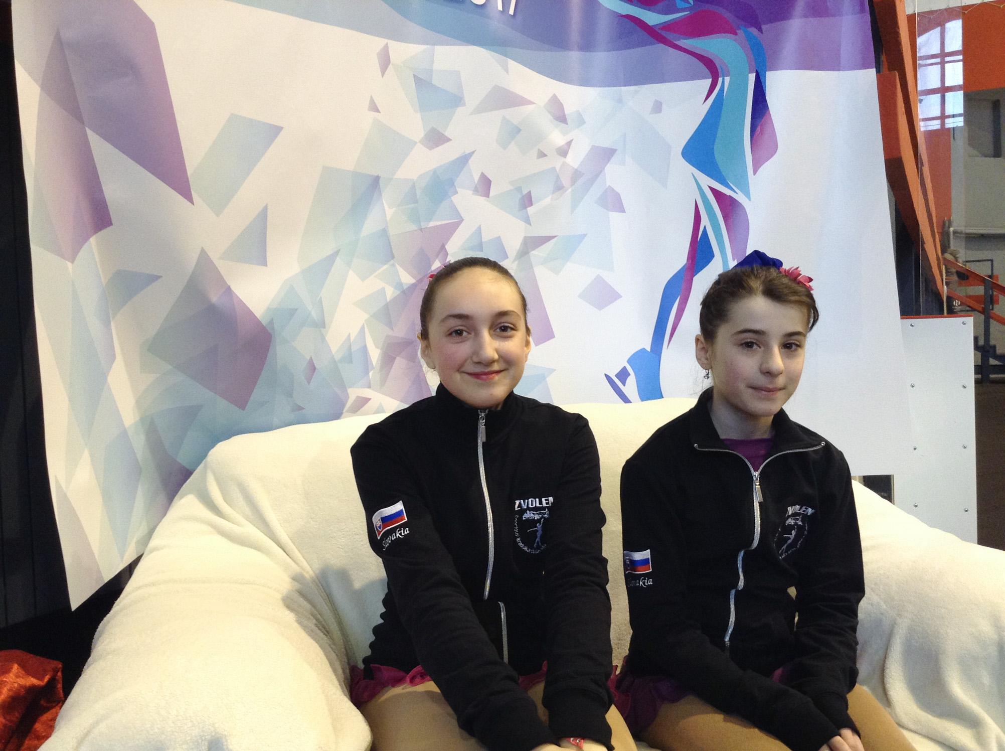 Dorota Marková a Emília Buchová (zľava)