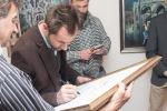 vernisáž výstavy v Galérii na Tehelnej vo Zvolene