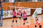 volejbalový zápas v extralige žien