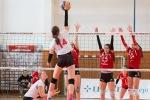 volejbalový barážový zápas v extralige žien