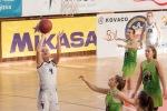 basketbalový zápas junioriek BK Zvolen a Stará Turá