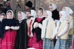 folklórne vystúpenie na Zvolenskom námestí