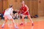 basketbalový zápas kadetiek medzi Zvolenom a Bystricou