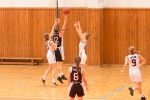 basketbalový zápas junioriek Zvolen a Myjava