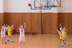 basketbalový zápas ASWBL Zvolen a Linz