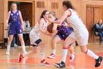 basketbalový zápas kadetiek