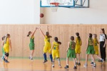 basketbalový zápas prípravky BK Zvolen a Stará Turá