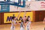 basketbalový zápas junioriek Zvolen a Žilina