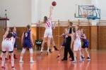 Basketbalový zápas kadetiek Zvolen a Bam Poprad