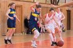 Basketbalový zápas kadetiek Zvolen a Young Košice