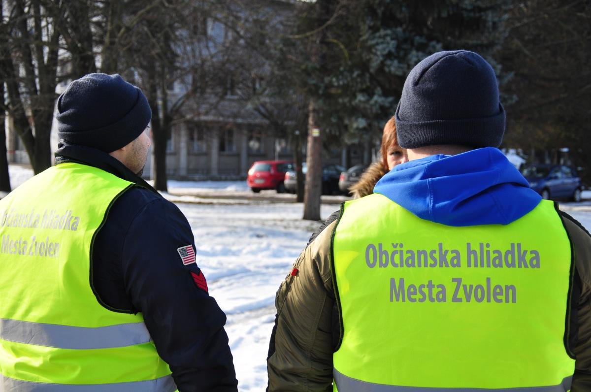 K zvýšeniu bezpečnosti v uliciach Zvolena majú prispieť občianske hliadky