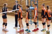 volejbalový zápas junioriek Zvolen a Košice
