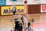 basketbalový zápas junioriek medzi Zvolenom a Trnavou
