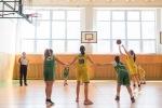 basketbalový zápas mini žiačok Zvolen a Maďarsko