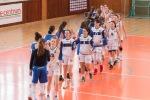basketbalový zápas junioriek medzi Zvolenom a Slovanistkami