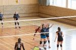 volejbalový zápas junioriek Zvolen a Kežmarok