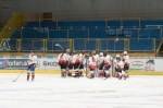 zápas ženského hokeja medzi Zvolenom a Košicami
